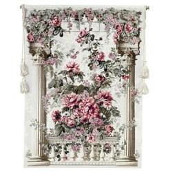 Veranda Garden European Tapestry Wall Hanging