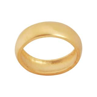 NEXTE Jewelry 14k Gold Overlay Frosted Satin Finish Wedding-style Band|https://ak1.ostkcdn.com/images/products/5898341/P13604251.jpg?impolicy=medium