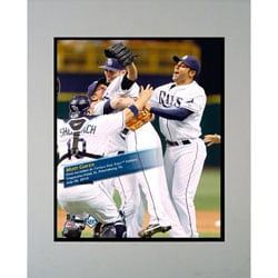 Tampa Bay Rays Matt Garza Matted Photo