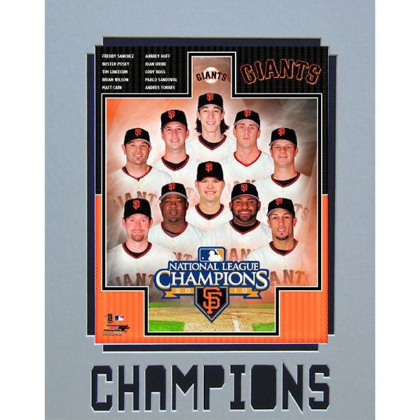 Encore Select San Francisco Giants Matted Photo