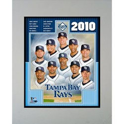 Encore Select 2010 Tampa Bay Rays Frame Photograph