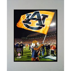 Encore Select Auburn University Tiger Double Matted Photo