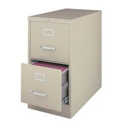Hirsh 2-drawer Letter-size Commercial Vertical File Cabinet