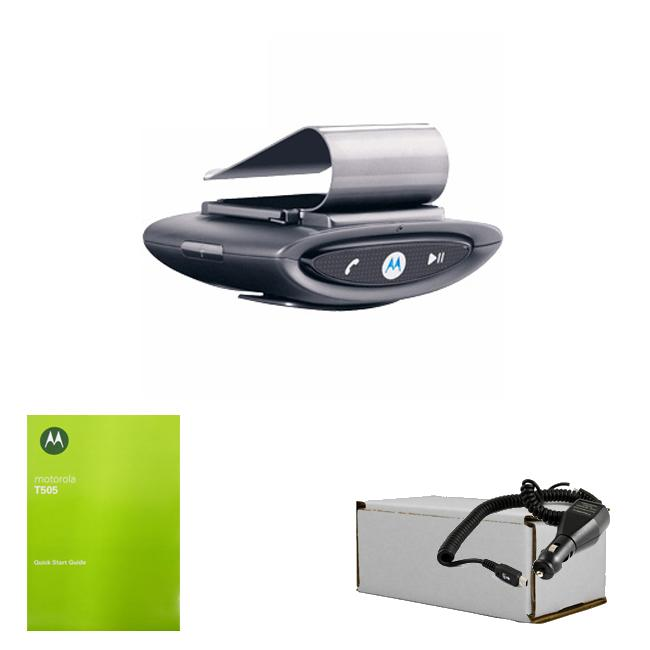 Motorola MotoRokr T505 Bluetooth Speakerphone