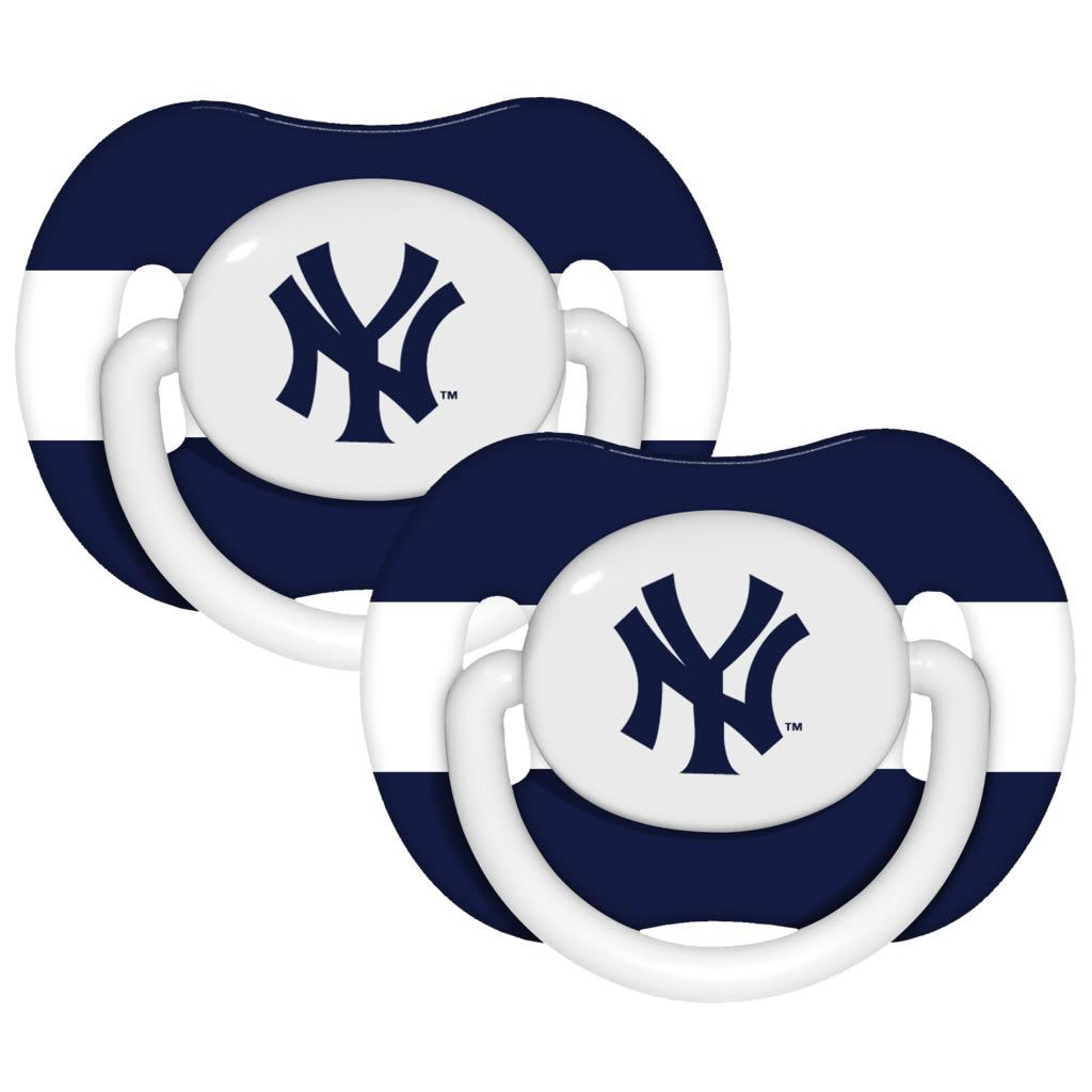 New York Yankees Pacifiers (Pack of 2) - Thumbnail 0