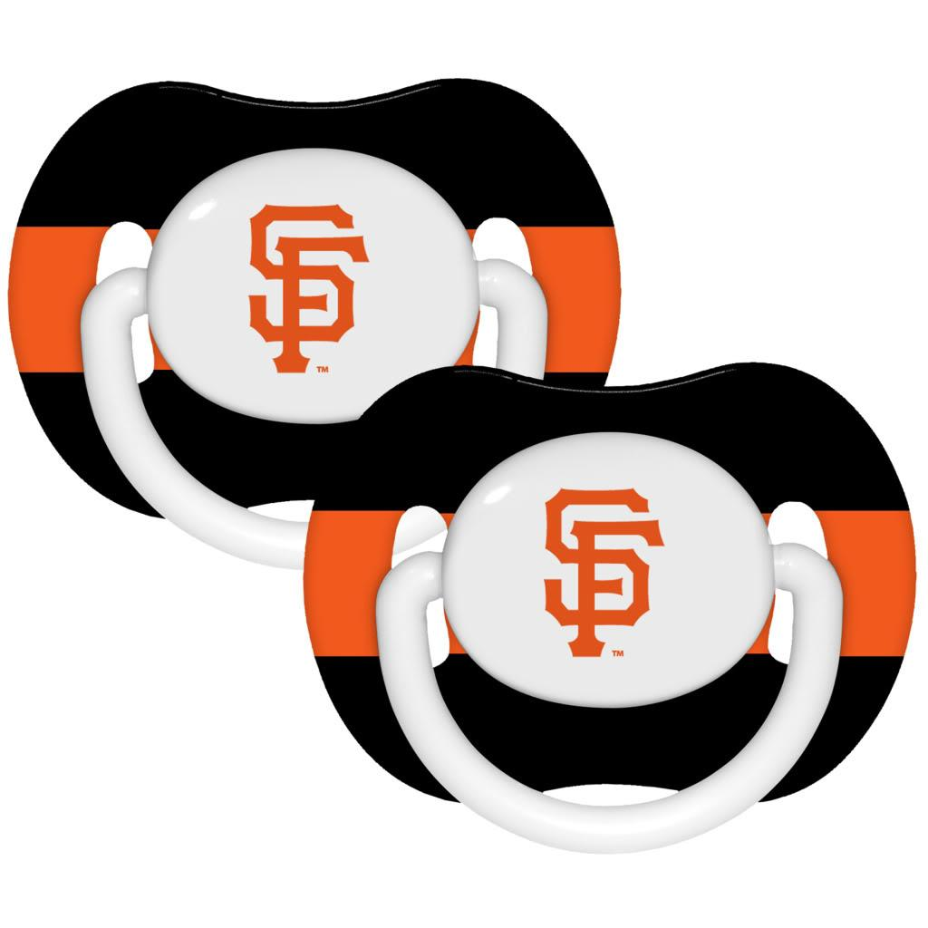 San Francisco Giants Pacifiers (Pack of 2)