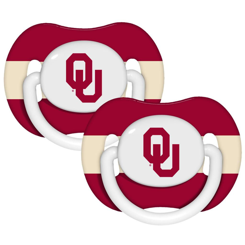 Oklahoma Sooners Pacifiers (Pack of 2) - Thumbnail 0