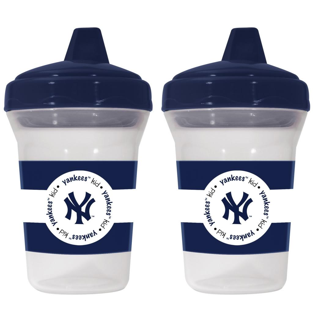 Baby Fanatic New York Yankees Sippy Cups (Pack of 2) (7),...