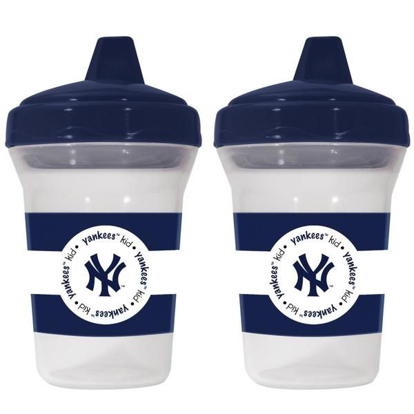 New York Yankees Sippy Cups (Pack of 2)