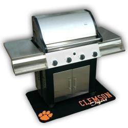 Clemson Tigers Vinyl Grill Mat