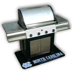 NCAA North Carolina Tar Heels Vinyl Grill Mat