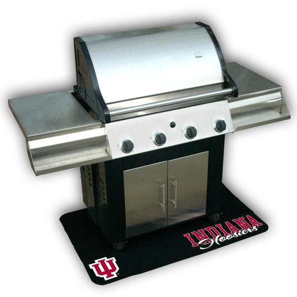 NCAA Indiana Hoosiers Vinyl Grill Mat