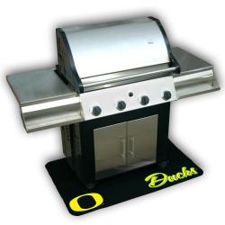 Mr. BBQ NCAA Oregon Ducks Vinyl Grill Mat - Thumbnail 1