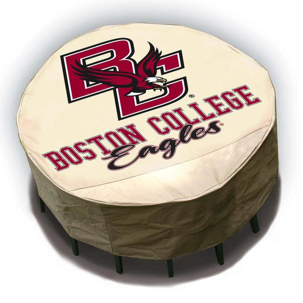 NCAA Boston College Eagles Round Patio Set Table Cover