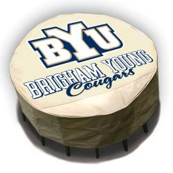 NCAA BYU Cougars Round Patio Set Table Cover - Thumbnail 2