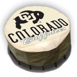 NCAA Colorado Buffalos Round Patio Set Table Cover