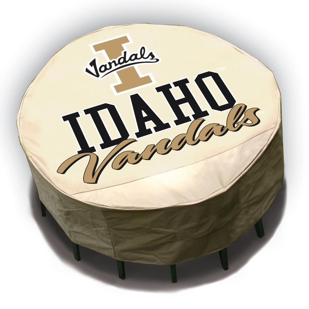 NCAA Idaho Vandals Round Patio Set Table Cover