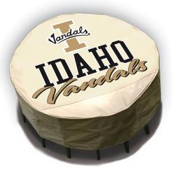NCAA Idaho Vandals Round Patio Set Table Cover - Thumbnail 1