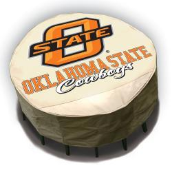 NCAA Oklahoma State Cowboys Round Patio Set Table Cover