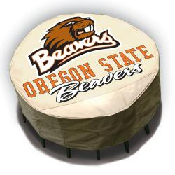 NCAA Oregon State Beavers Round Patio Set Table Cover