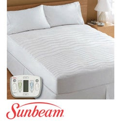 sunbeam therapeutic kingsize electric heated zone mattress pad thumbnail 1 - Heated Mattress Pad King