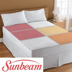 Sunbeam Therapeutic King-size Electric Heated Zone Mattress Pad
