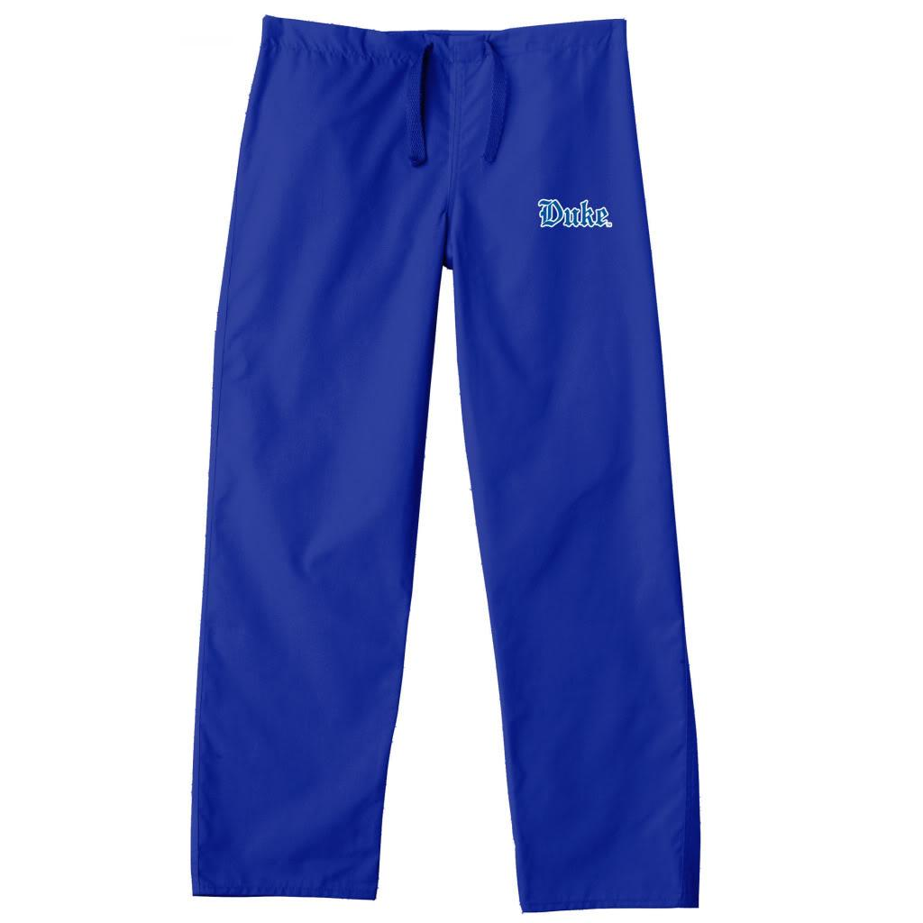 Gelscrub Unisex Royal Duke Blue Devil Scrub Pants