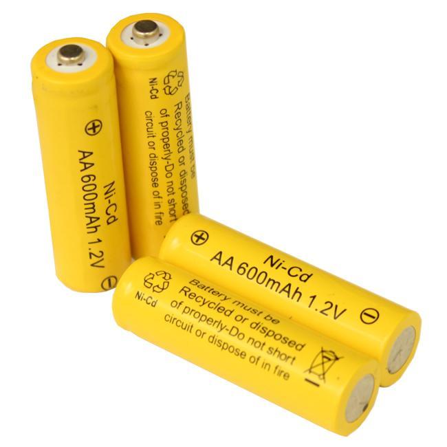 Solar Light AA Ni-CD Rechargable Batteries (10-pack)
