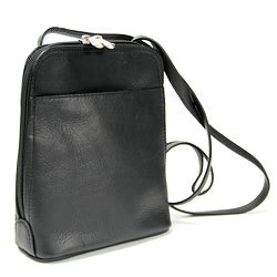 Royce Leather Vaquetta Zip Around Mini Bag