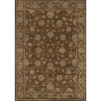 "Preston Brown Kashan Rug (5'3 x 7'6) - 5'3"" x 7'6"""