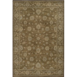 Preston Brown Kashan Rug (5'3 x 7'6)