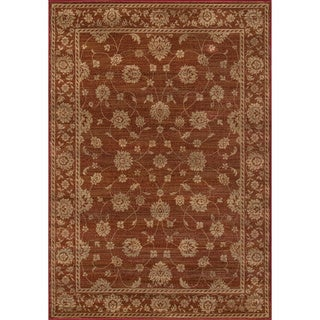 Preston Kashan Red Rug (2' x 3')