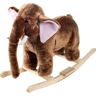 Happy Trails Plush Rocking Mo Mammoth