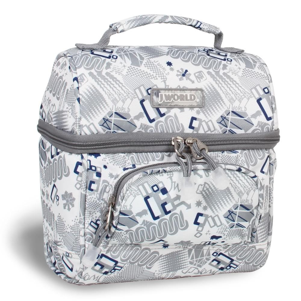 J World 'Corey' Blinker White Lunch Tote
