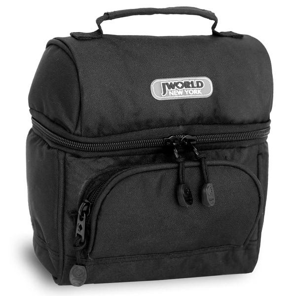 J World Black 'Corey' Lunch Bag