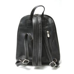 Royce Leather Vaquetta Zip-around Sling Backpack - Thumbnail 1