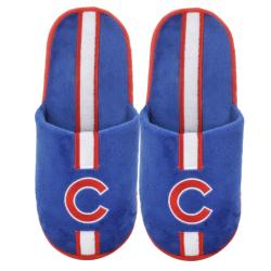 Chicago Cubs Big Logo Slippers - Thumbnail 1
