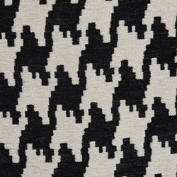 Anna Houndstooth Grande Accent Chair - Thumbnail 2