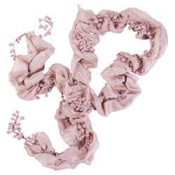 Journee Collection Women's Ruched Detail Scarf - Thumbnail 2