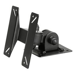 INSTEN Black Wall Mount Bracket for Flat Panel TVs - Thumbnail 1