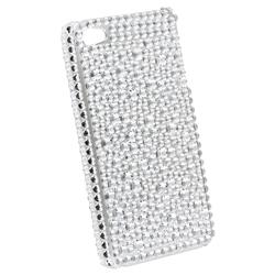 Silver Rhinestone Case for Apple iPhone 4 - Thumbnail 2