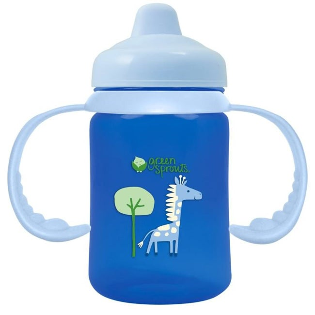 Green Sprouts Non-Spill Sippy Cup in Blue