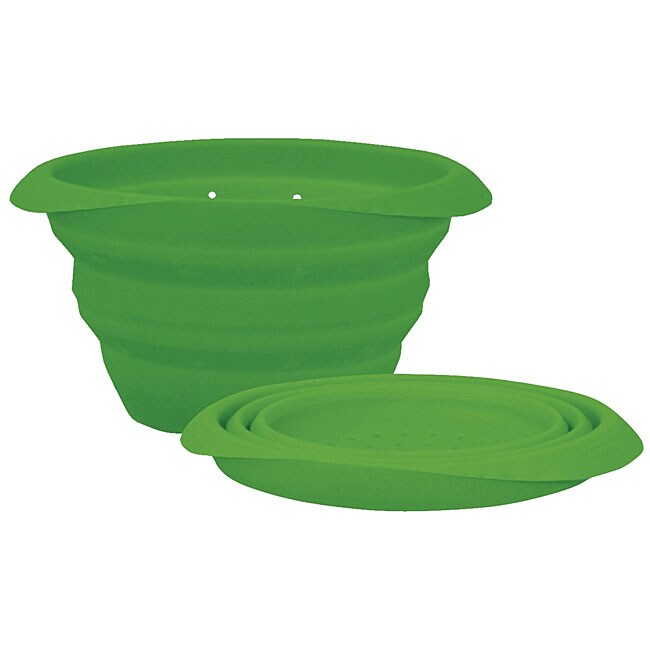 Green Sprouts Collapsible Steamer/ Round Bowl