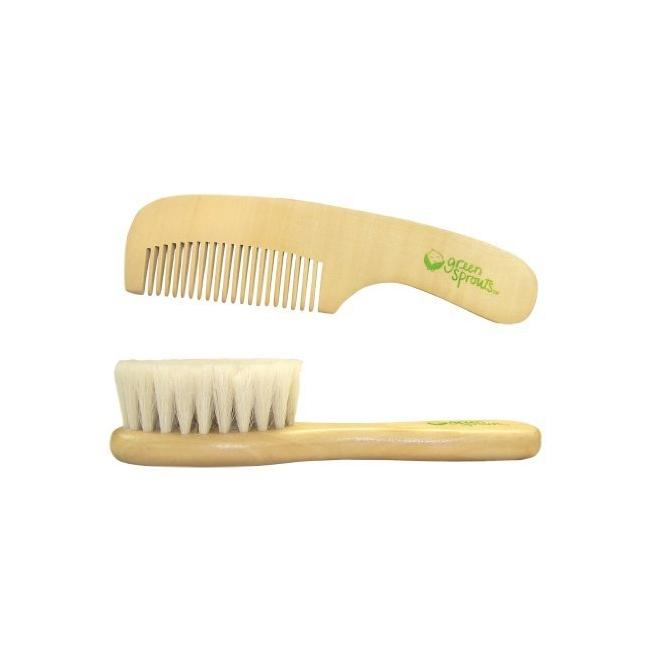 Green Sprouts Brush and Comb Set