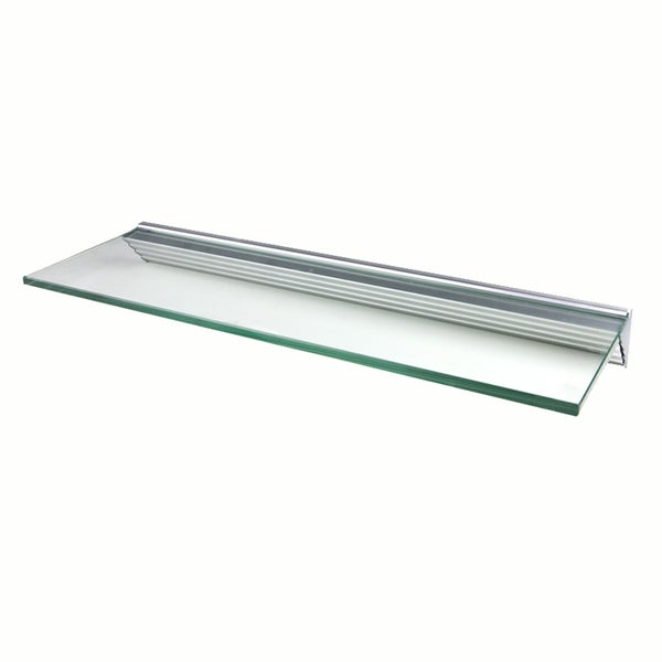 Glacier 36x12-inch Clear Glass Shelf Kits (Pack of 4)
