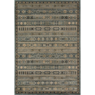 Preston Blue Gabbeh Rug (7'10 x 9'10)
