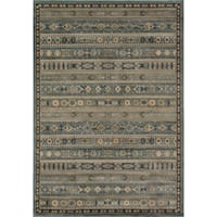 "Momeni Belmont Light Blue Gabbeh Rug - 7'10"" x 9'10"""