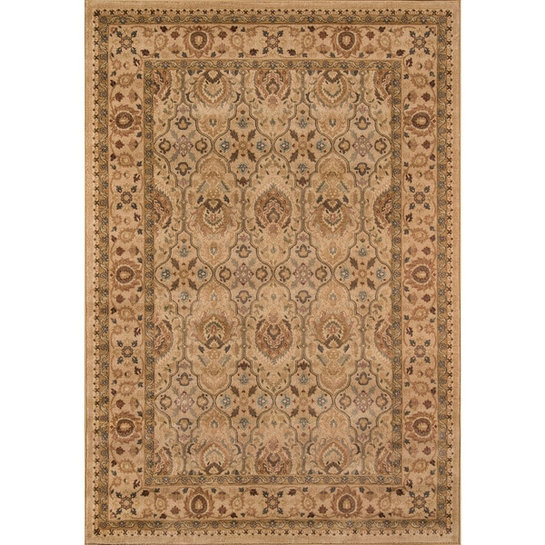 "Momeni Belmont Machine Made Polypropylene Ivory Area Rug - 5'3"" x 7'6"""