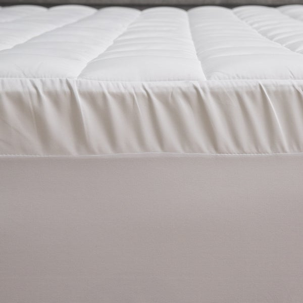 slumber solutions 3inch memory foam and 15inch fiber mattress topper free shipping today