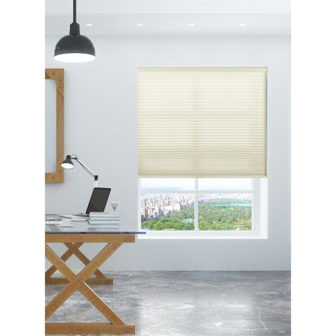 Arlo Blinds Cream Light Filtering Cordless Cellular Shades